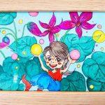 【制作実績】オリジナルアート「癒し」