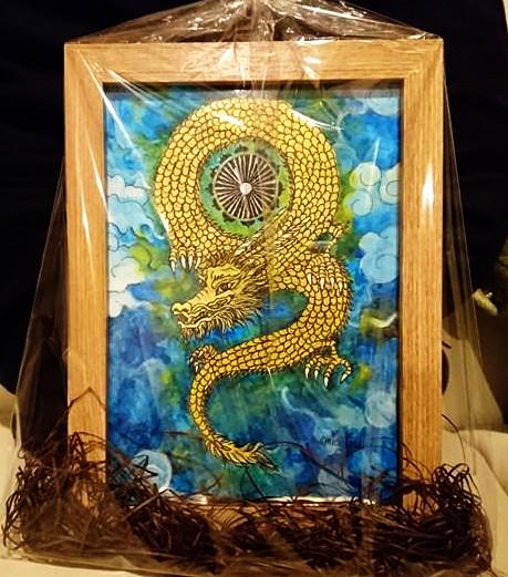 【制作実績】オリジナルアート「光の龍」