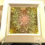 【制作実績】結晶の花アート「深い愛で見守る」