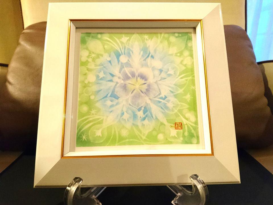 【制作実績】結晶の花アート「着実に進む」