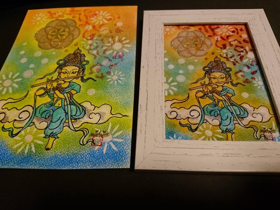 【制作実績】直感アート「希望」2