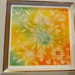 【制作実績】結晶の花アート「あたたかい存在」
