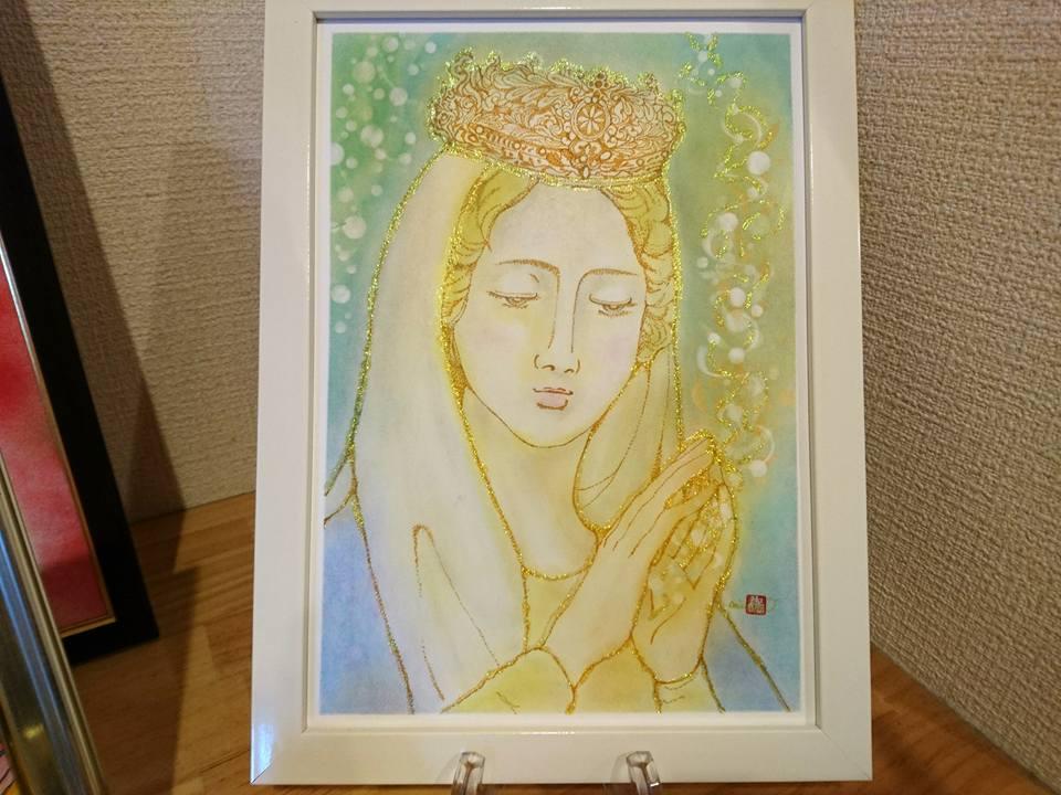 【制作実績】インスピレーションアート「光である事を思い出す」1