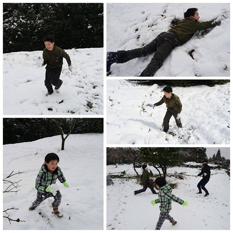 初雪♡10