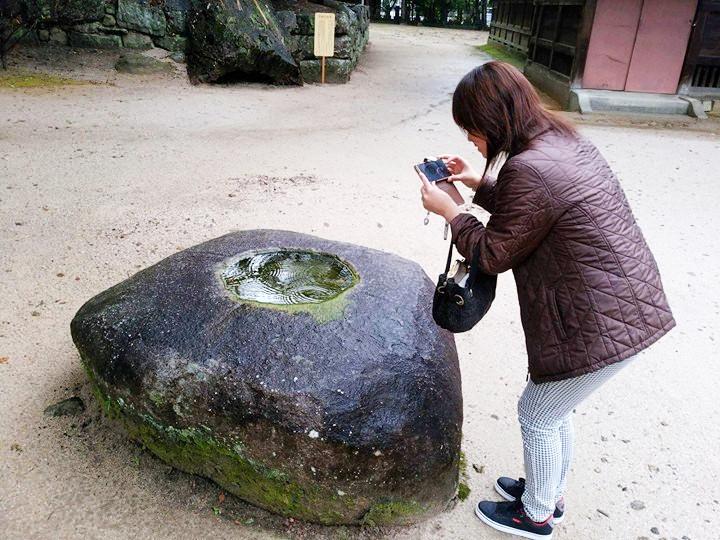 波紋を撮る女3