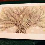 【制作実績】直感アート「生命の樹」