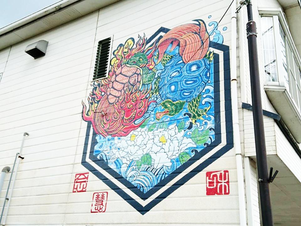 佐賀県多久市のアートに大興奮♡4