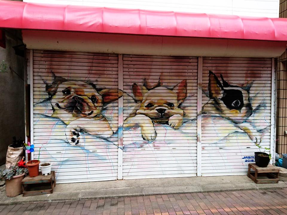 佐賀県多久市のアートに大興奮♡7