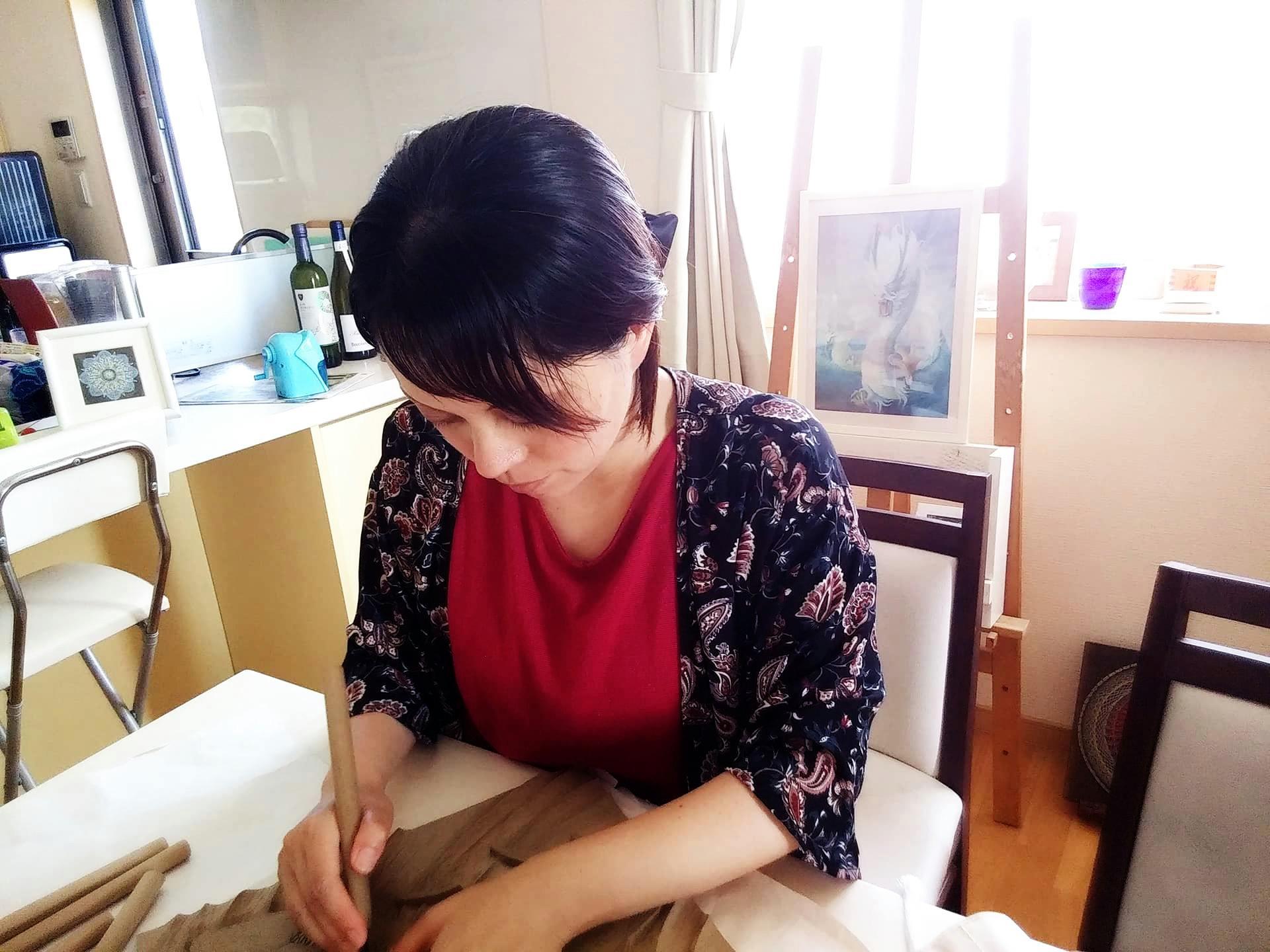 【制作途中】木彫り時間3
