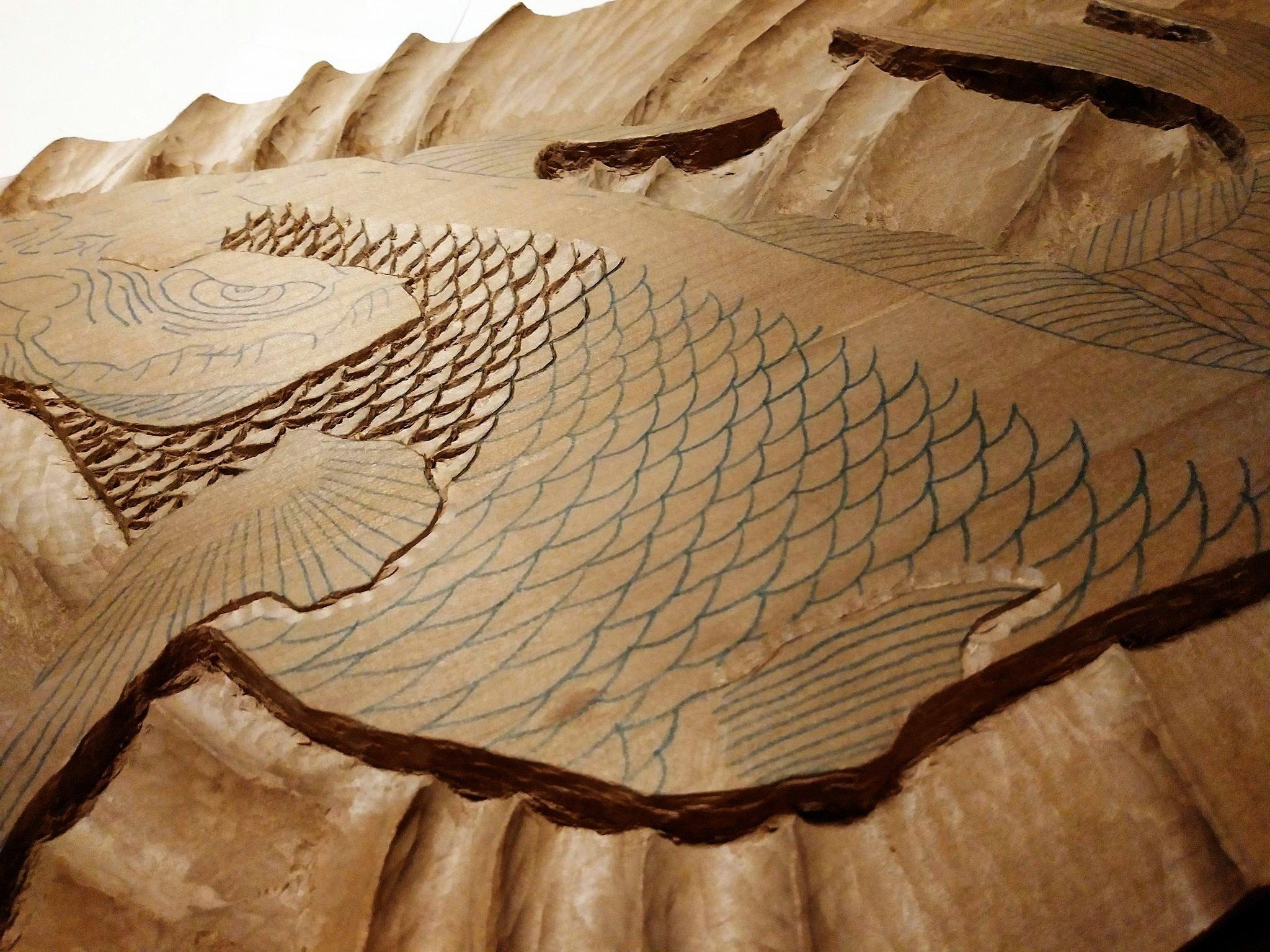 【制作途中】木彫り時間4