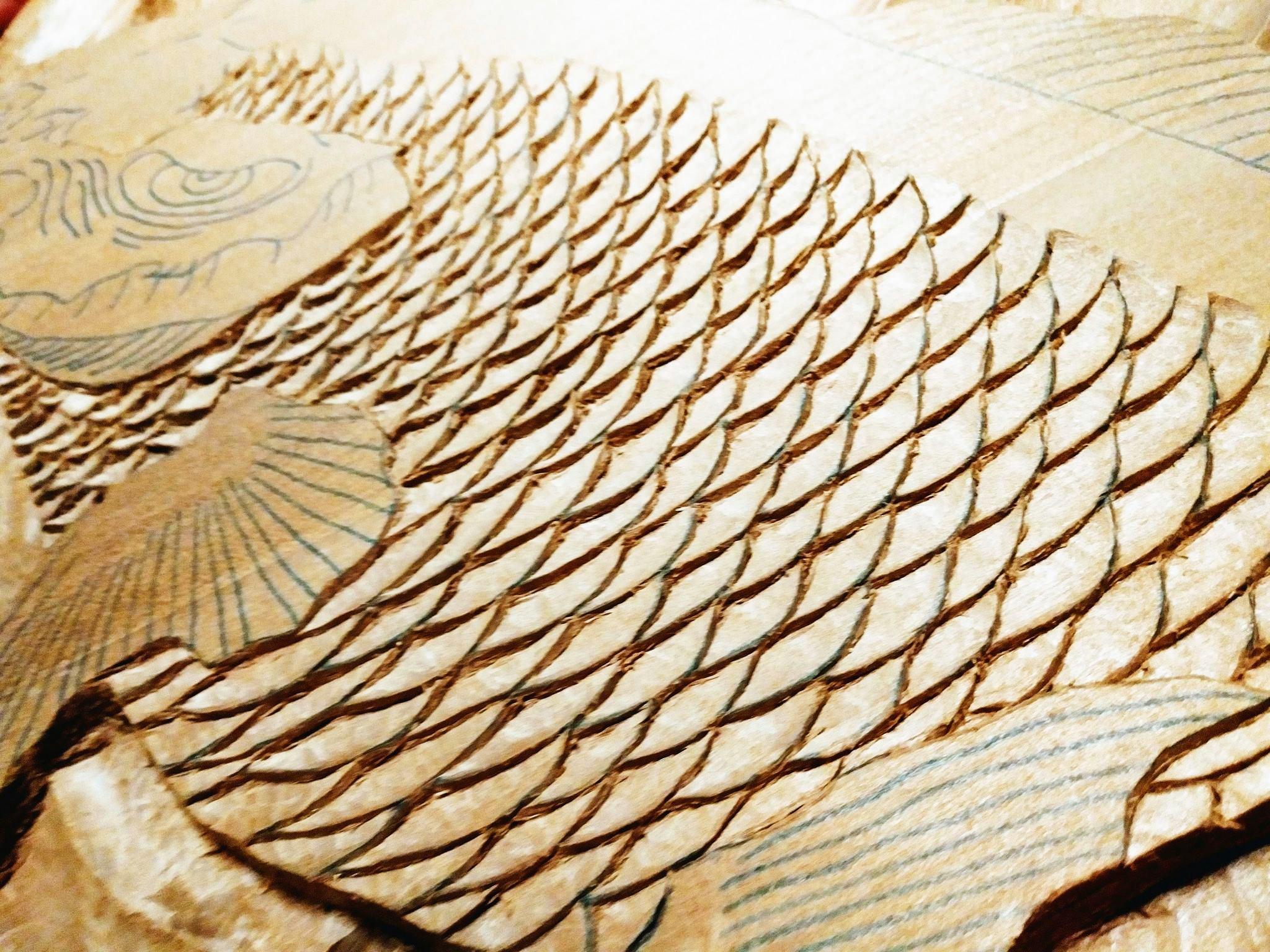 【制作途中】木彫り時間6